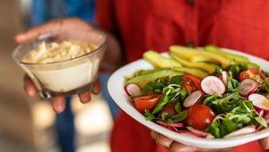 comidas representando nutrição